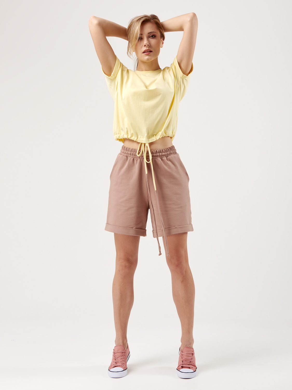 Костюм жіночий KWS з шортами лим