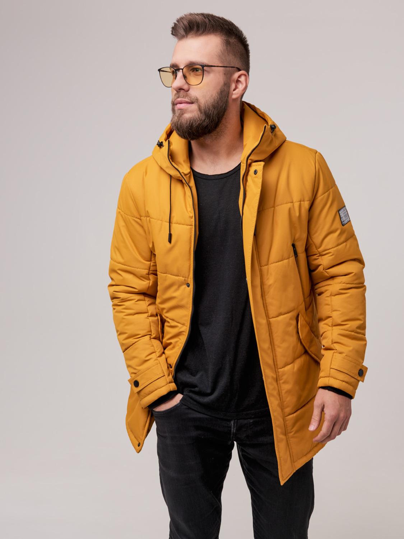 Чоловіча зимова куртка Б6 Гірчиця