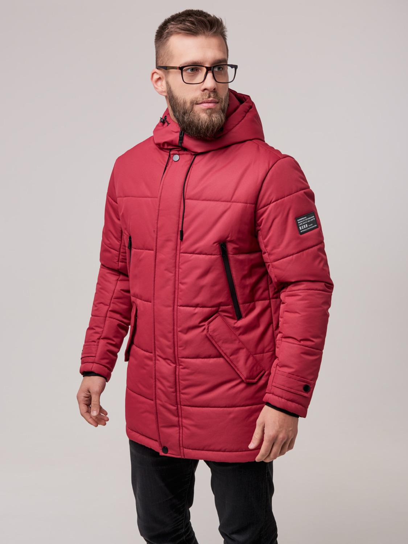 Чоловіча зимова куртка Б6 Червоний