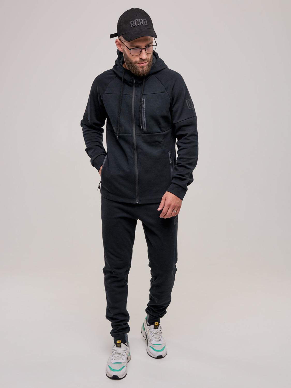 Чоловічий спортивний костюм чорний