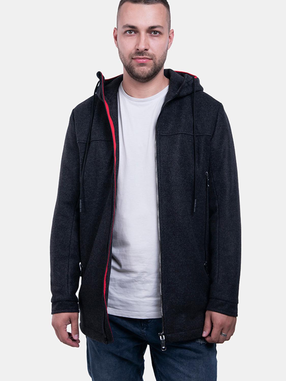 Пальто T5 Сірий
