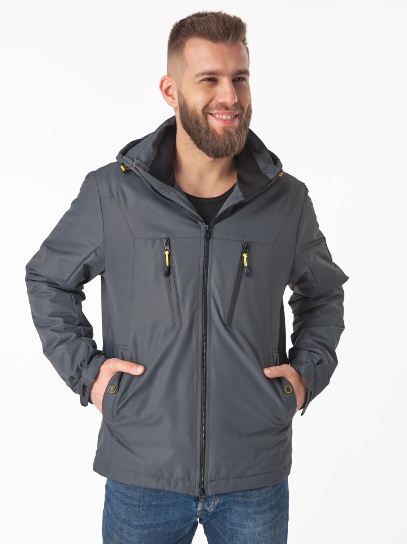 Чоловіча демісезонна куртка V-1 Сірий