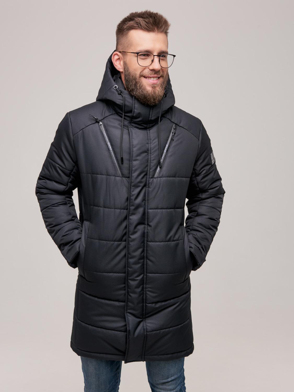 Чоловіча зимова куртка WL-2001 Чорний