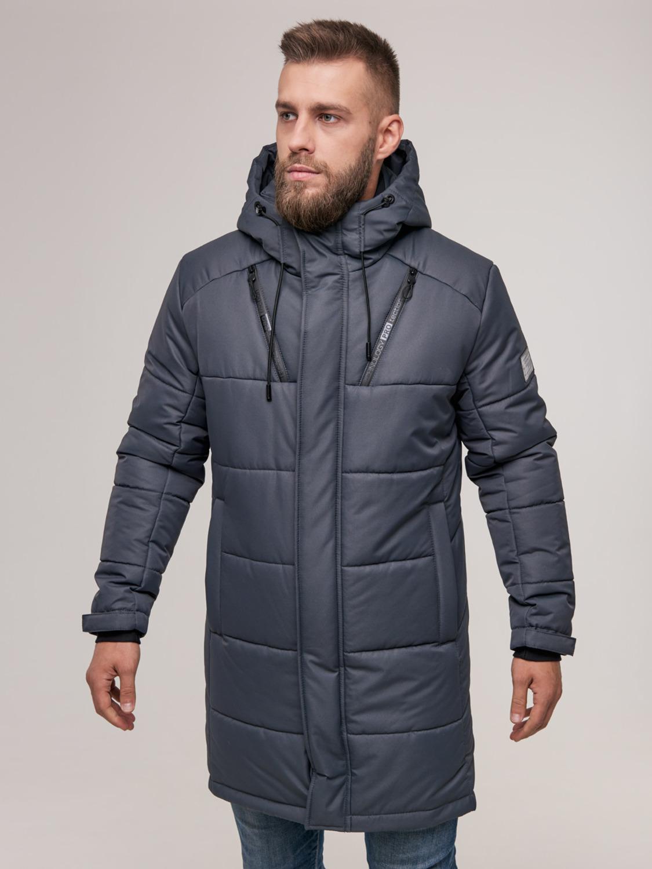 Чоловіча зимова куртка WL-2001 Сірий