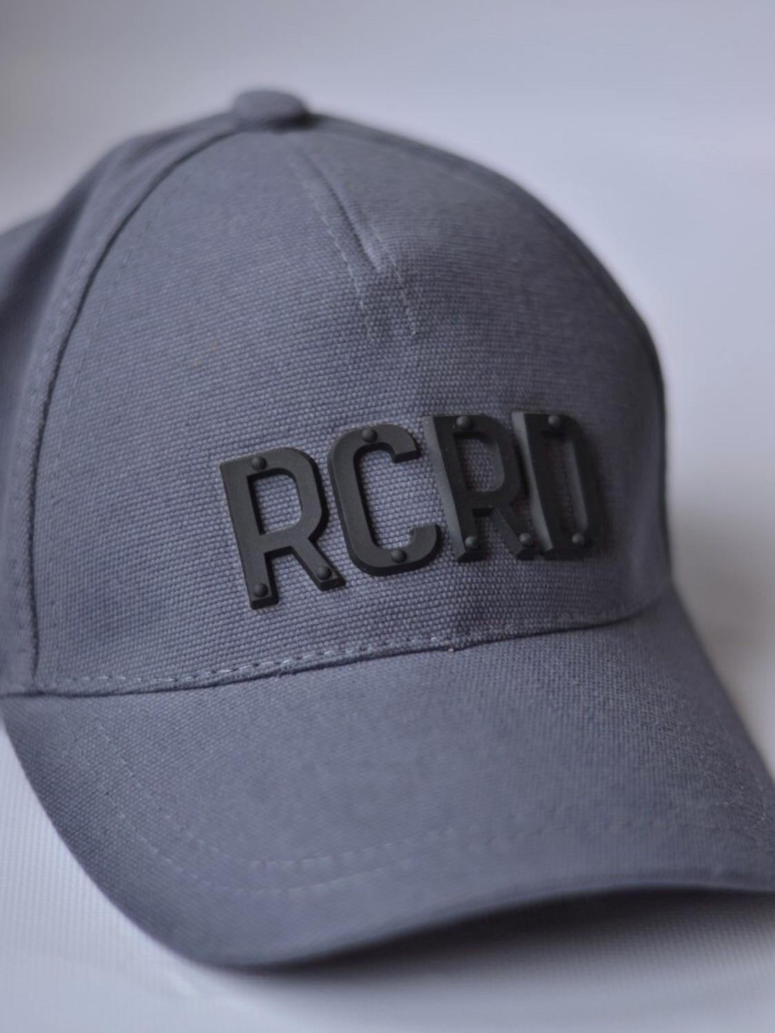 "Men's  gray baseball cap""RCRD"""