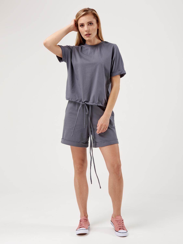 Костюм жіночий KWS з шортами графіт