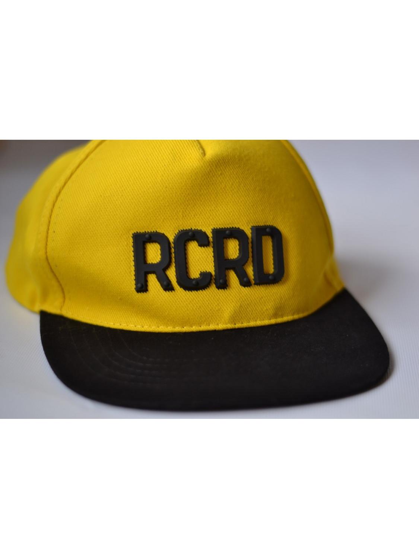 Чоловіча бейсболка в жовтому кольорі RCRD