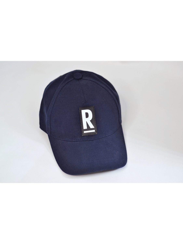Чоловіча бейсболка в синьому кольорі | R