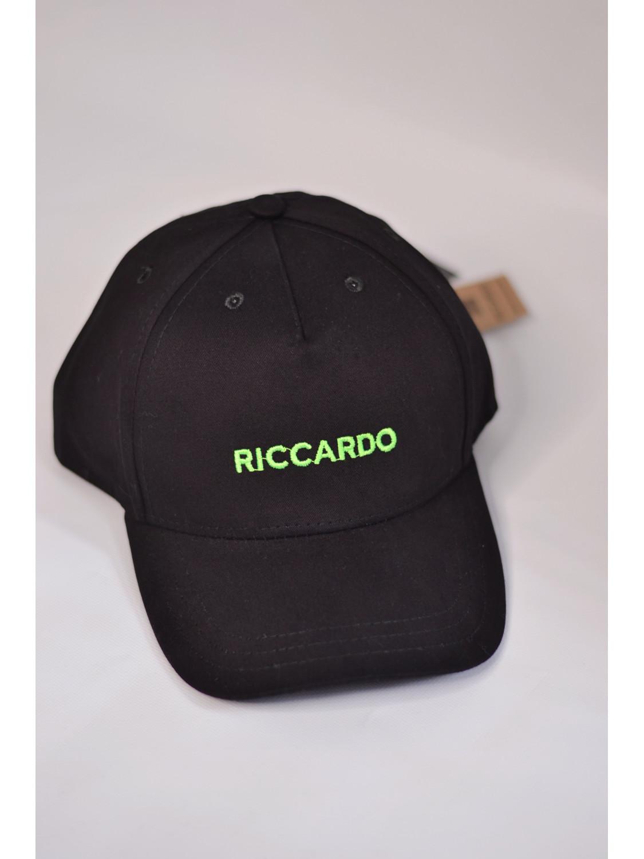 Чоловіча бейсболка в чорном кольорі | Riccardo