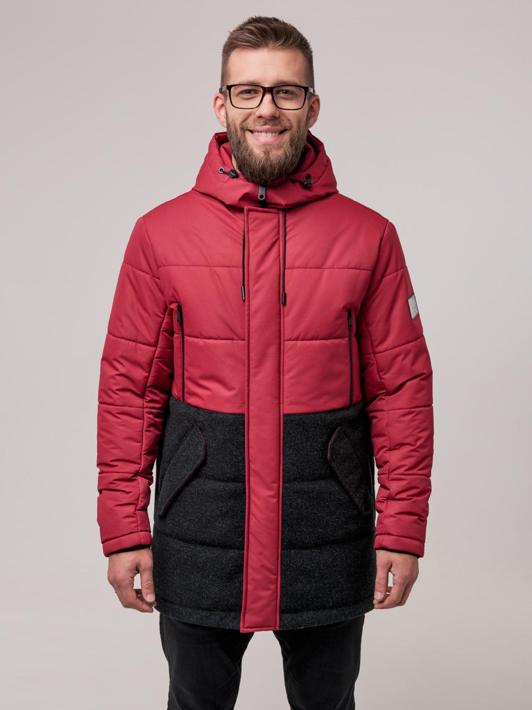 Куртка чоловіча зимова ZD-02 Бордо