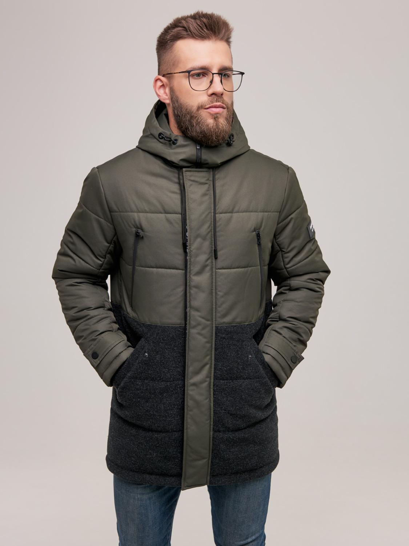 Куртка чоловіча зимова ZD-02 Хакі