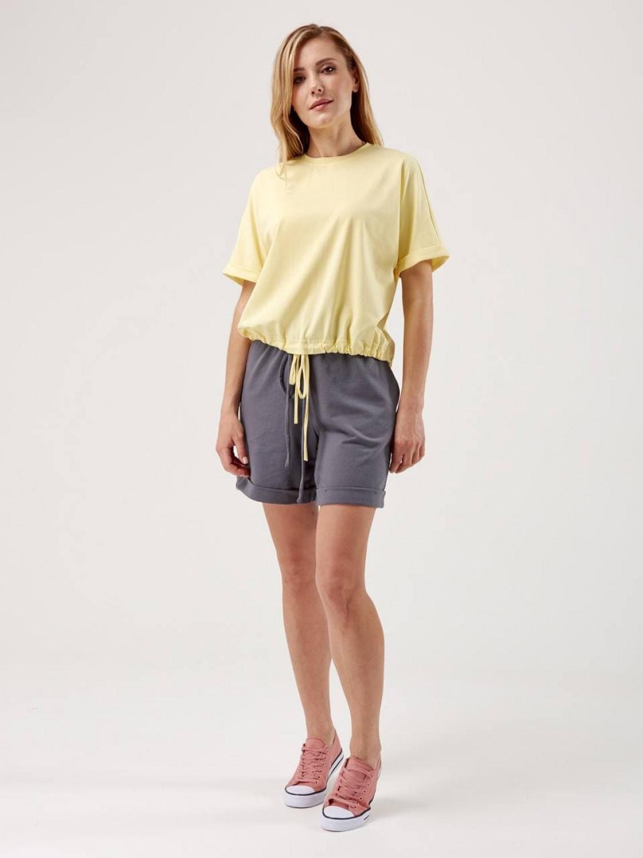 Костюм жіночий KWS з шортами графіт/лим
